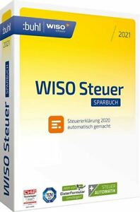 WISO steuer:Sparbuch 2021 -für Steuerjahr 2020 -CD-ROM - mit gedrucktes Handbuch