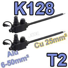 MICHAUD K128 T2 lot de 2 mbouts réducteur de section 6-50M vers 25mm²