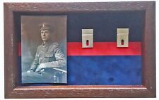 Large London Scottish Medal Display Case With Photograph For 5+ Medals
