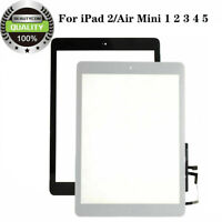 Touch Screen Display Digitizer Replacement For iPad 2 / Air mini 1 2 3 4 5