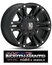 20X9 KMC XD MONSTER II BLACK WHEEL HUMMER H2, DODGE RAM 2500, SILVERADO 2500