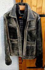 Ancien blouson SCHOTT N.Y.C cuir vintage homme,moto perfecto,vachette,motard