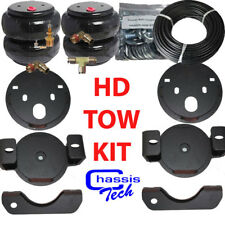 Air Helper Spring Kit chevy gmc 25/35HD 2001-2010 bolt on no Load Leveler xzx
