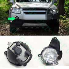 1xFor Chevrolet Captiva 2008-10 Front Bumper Right Side Fog Light Cover withBULB