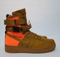 Nike SF AF1 QS Air Force 1 High Desert Ochre Mens Size 9.5 Casual 903270 778 New