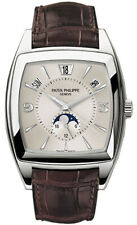 Patek Philippe Gondolo 5135 18k White Gold Calendario Watch Box/Papers 5135G