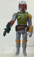 Star Wars Vintage Boba Fett 1979 Kenner Figure and Original Weapon Minty HK