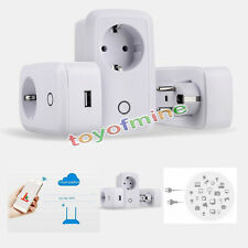 2.4G Wireless WIFI Phone Remote Control home Smart Timer Socket Switch EU NEW