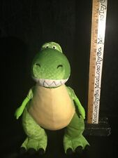 ORIGINAL AUTHENTIC DISNEY STORE EXCLUSIVE TOY STORY REX THE DINOSAUR SOFT PLUSH