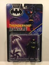 Vintage BATMAN RETURNS THUNDERWHIP BATMAN Action Figure Kenner MOC 1991