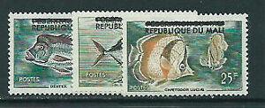Mali - Correo Yvert 10/2 ** Mnh  Fauna peces