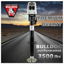 BULLDOG MOTORISED 12V ELECTRIC POWER TRAILER JACK FRAME JOCKEY LEG STAND CARAVAN