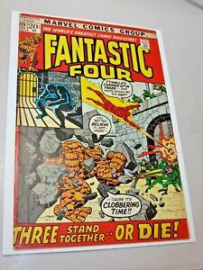 Fantastic Four #119 Black Panther Appearance New Logo 1972 Bronze Age Marvel
