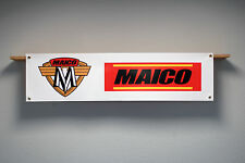 Maico BANNER Workshop Garage Classic MX Trackside banner Magnum MC 125, 250, 440
