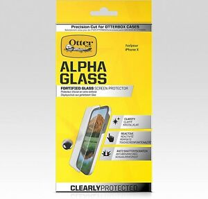 OtterBox Alpha Glass Series Screen Protector for iPhone X - Clear MSRP $39.95