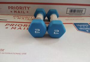 select pair of 2#, 3#, 5#, 8# CAP HEX NEOPRENE DUMBBELLS