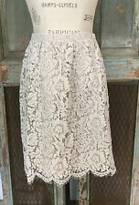 Anthropologie NWT 18 16 Lace Skirt by Jenny Yoo Lined Pockets