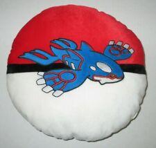"Pokemon Center KYOGRE Plush Pillow Big 14"" Pokeball Figure Stuffed Toy 2006 USA"