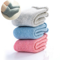 5 Pairs Baby Kids Boy Girls 90%Wool Cashmere Thicken Warm Multicolor Socks 0-6Y