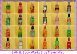 Bath & Body Works Travel Size Women Fragrance Mist 3 oz / 88 ml You Pick Scent!