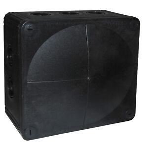 Wiska Combi 1210/5/S Black Weatherproof Cable Junction Boxes IP66 - 10101463