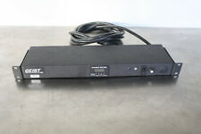 Geist BRC100-1025TL Power Strip Unit 120VAC 20A w/ Power Meter - 10 outlet