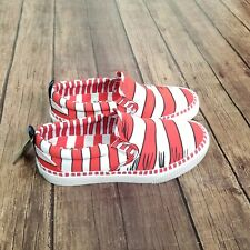 NEW Skechers V'Lites We Saw Him! Shoes Womens Size 6 Dr. Seuss Red White