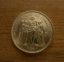 Piece argent 10 francs Hercule année 1965, 66 ou 70