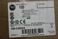 Allen-Bradley 100-C30H10 Contactor 3 pole New Sealed Box