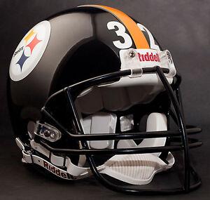 FRANCO HARRIS Edition PITTSBURGH STEELERS Riddell REPLICA Football Helmet NFL