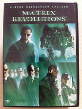 Keanu Reeves THE MATRIX REVOLUTIONS Wachowski fratelli Sci-Fi Action ~ R1 US DVD