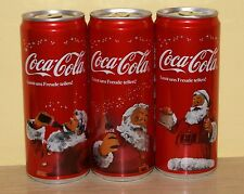 Coca-Cola cans set from AUSTRIA - Christmas 2013