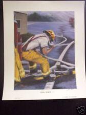 Firefighter s/n Getsinger print COOL DOWN