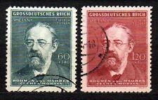 Germany / Bohmen und Mahren - 1944 Smetana / Music Mi. 138-39 FU