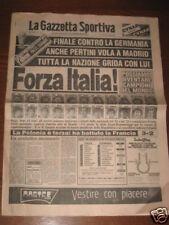 GAZZETTA DELLO SPORT 11/07/1982 CAMPIONATO DEL MONDO
