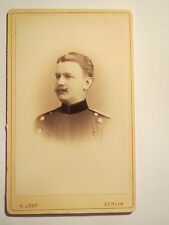 Berlin - Soldat in Uniform - Portrait / CDV