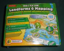 """Lakeshore """"Landforms & Mapping""""  grab and play game BRAND NEW"""