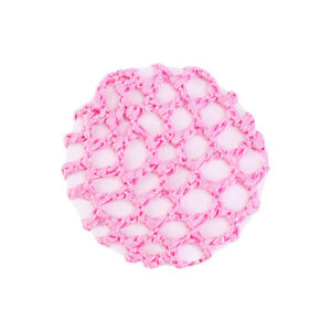 Elastic Band Crochet Hair Bun Cover Snood Hair Net Ballet Dance 11 Colors