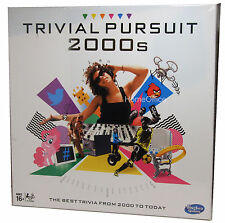 Trivial Pursuit 2000's Party Board Game Hasbro  Questions from 2000's to Now