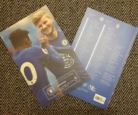 Chelsea v Liverpool 20/9/2020 PREMIER LEAGUE MATCH PROGRAMME! READY TO POST!!!