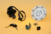 Ignition Switch Seat Gas Cap Cover Lock Key Set for Honda CBR 600 F2 F3
