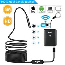 Wireless Inspection Camera Endoscope HD Flexible Camera Android iOS - UK SELLER