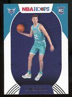 2020-21 Panini NBA Hoops LAMELO BALL Rookie Card RC #223 Charlotte Hornets E4