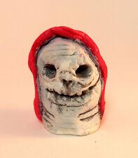 GUS FINK Art Sculpture outsider ORIGINAL Ooak designer skull ANCIENT BOGLIN