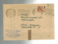 1949 Berlin Germany Judaica Cover Charlottenburg Georg Israel