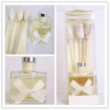 Large Luxury Home Fragrance Cotton Reed Stick Flower Oil Diffuser Gift Set 40056
