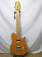 OLP MM1 Electric Guitar Orange Flame Pro Setup Wolfgang Copy