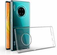 Huawei Mate 30 Pro durchsichtige Handyhülle Schutzcase Cover Etui Transparent