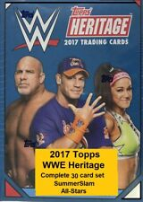 2017 Topps Heritage WWE SummerSlam All-Stars Complete 30 card set