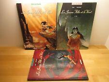 Intégrale La jeune fille et le vent Tomes 1 à 3 par Jung et Ryelandt EO